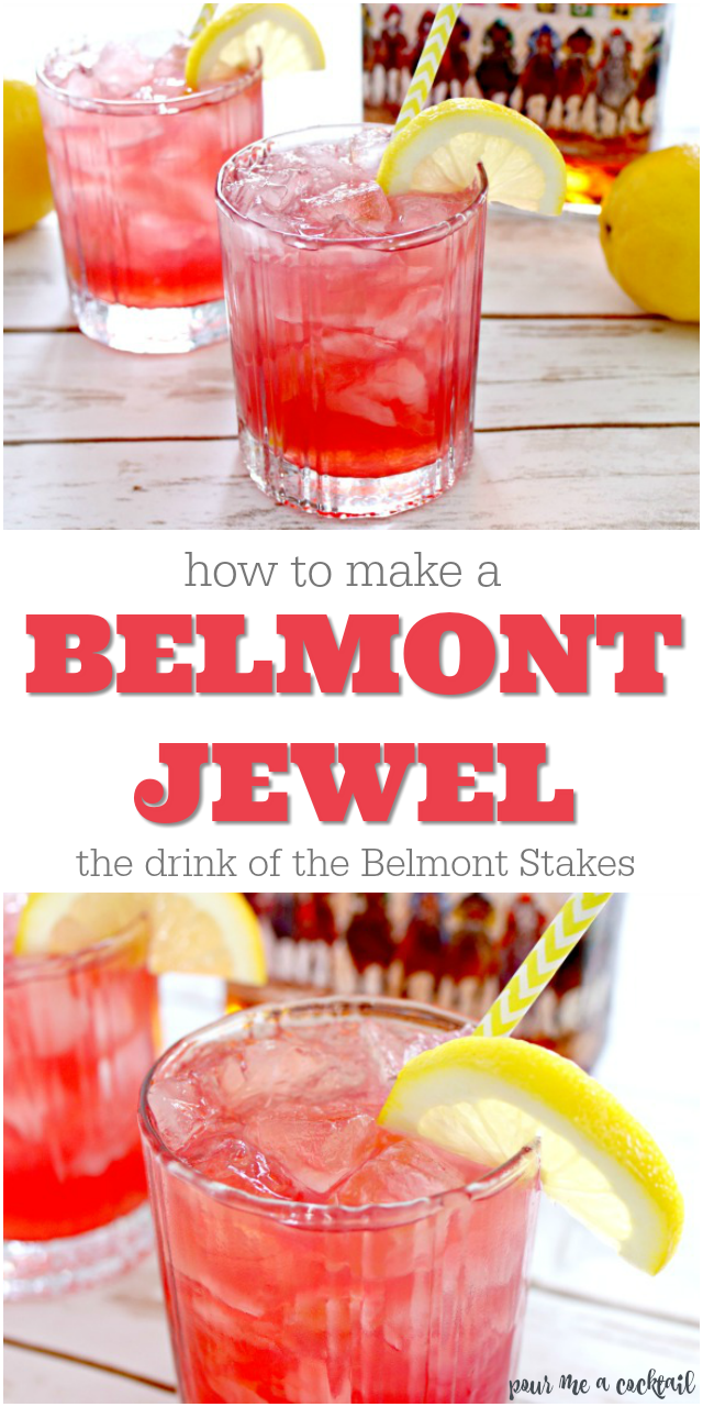 Belmont Jewel Cocktail