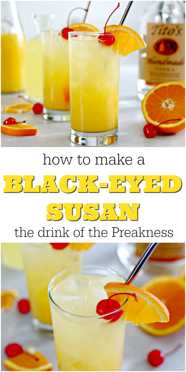 Black-Eyed Susan Cocktail
