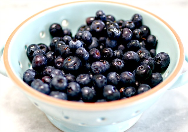 how to make fresh blueberry puree