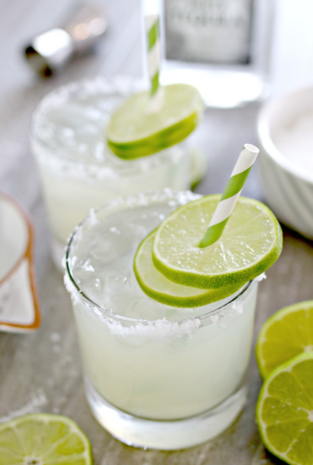 Homemade Fresh Margarita