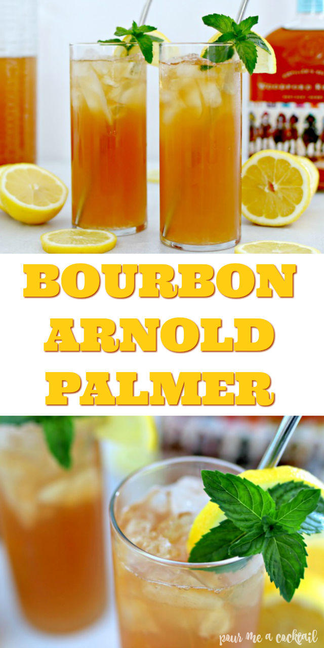 Bourbon lemonade sweet tea