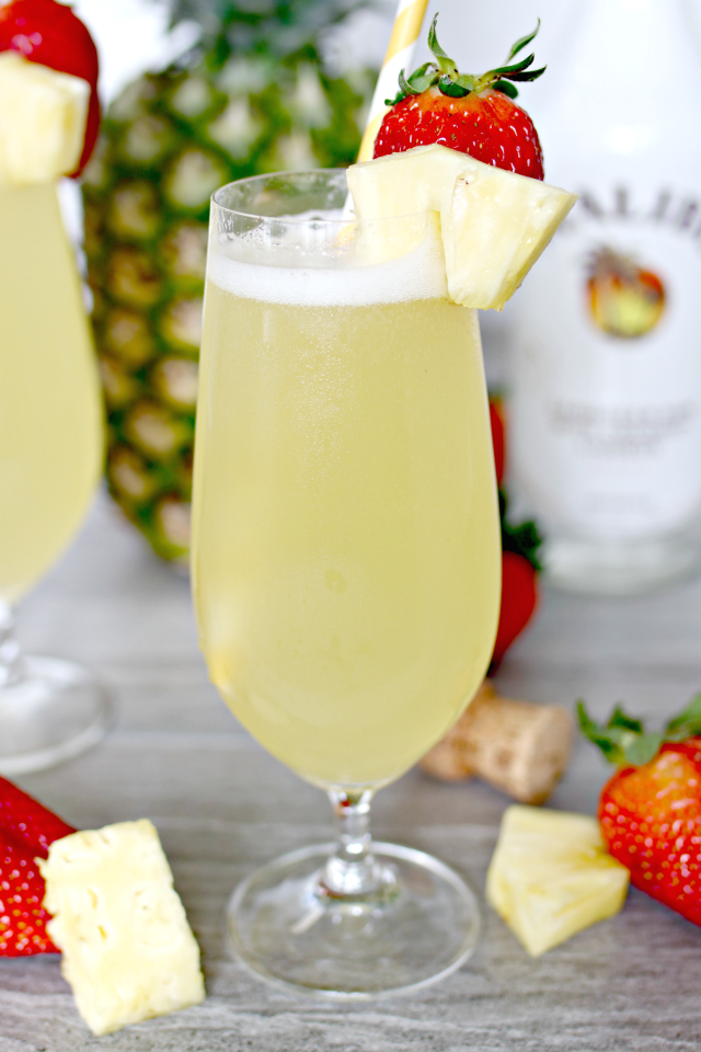Tropical Prosecco Mimosas Recipe